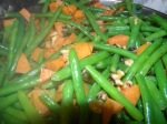 Green Beans with Sweet Potatoes & Walnuts